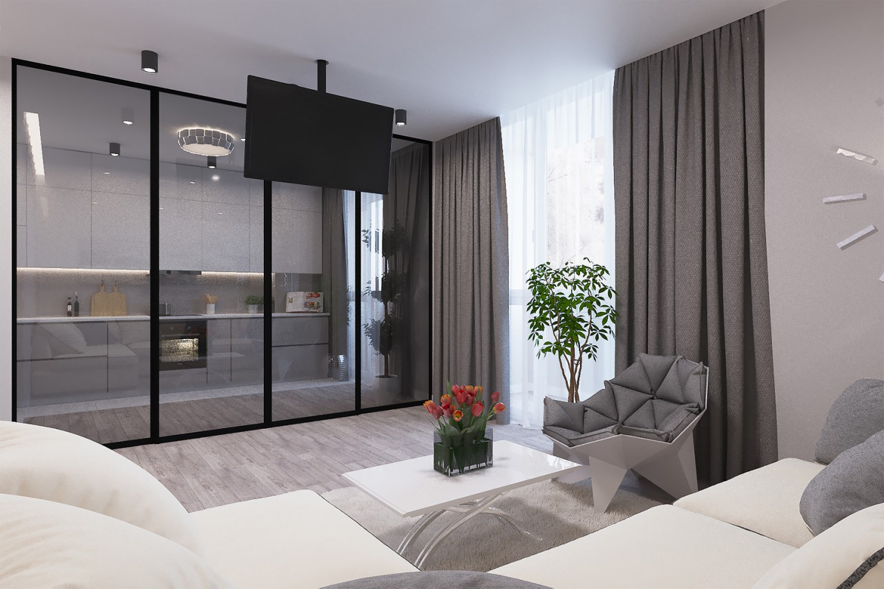 Flat in Central Park (72m2)