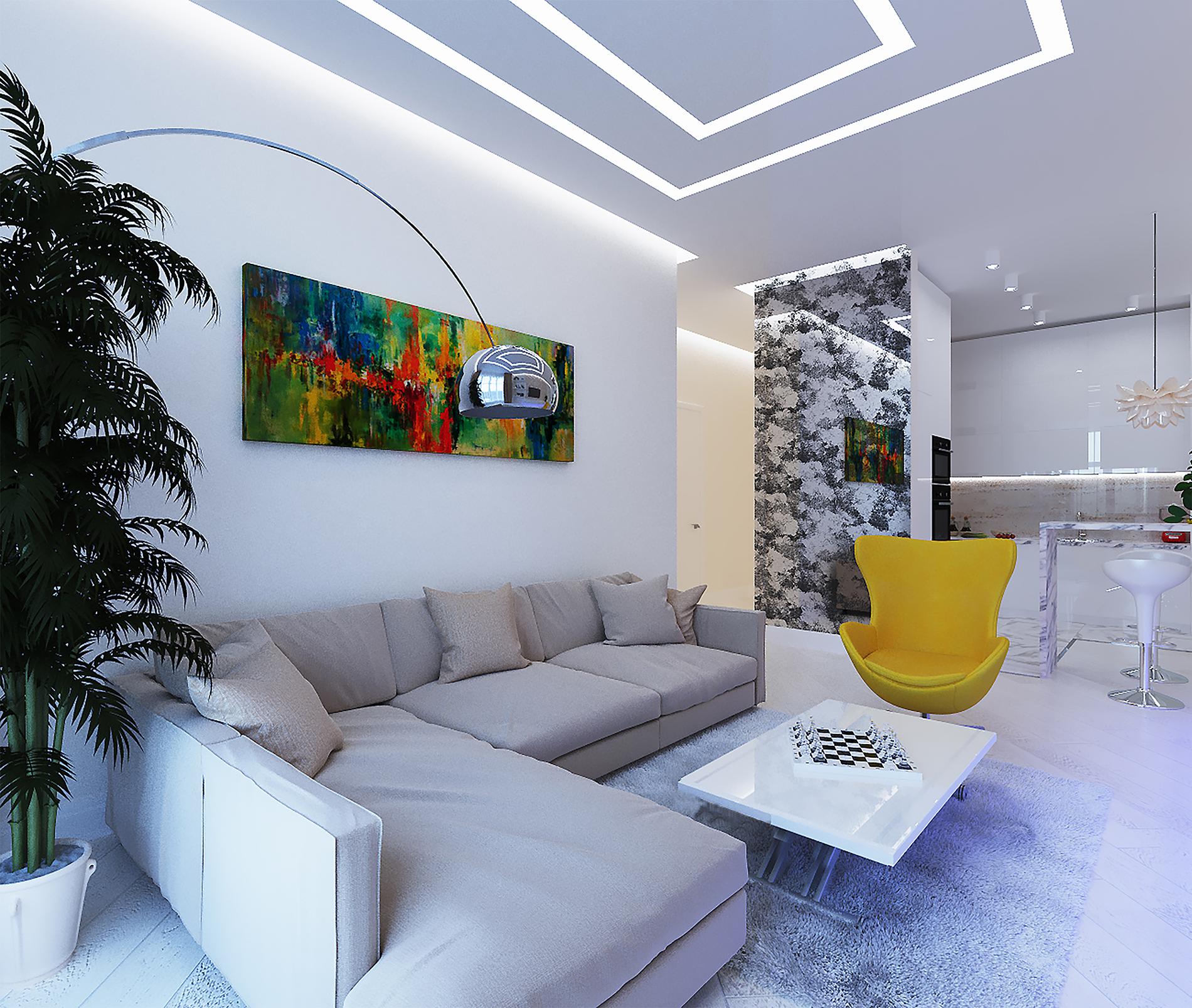Flat in PecherSky Luxury Apartments (84m2)