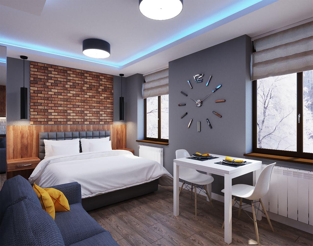 Studio apartment (38m2)